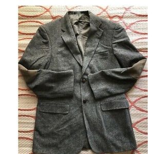Stafford Country Tweed 40R Elbow Patches Lambswool